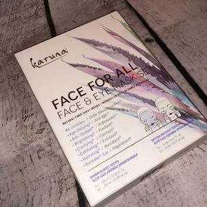 "NIB Karuna ""Face for All"" Face & Eye Mask Set"